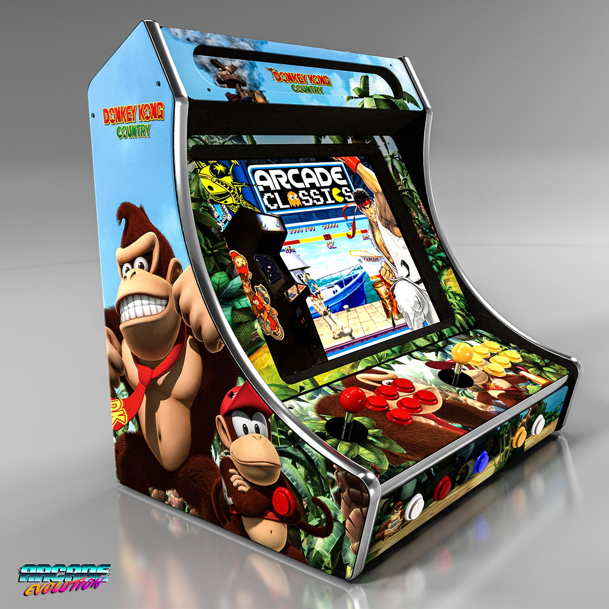 Buy Arcade Machines Fully Configure With 1000's Of Games You