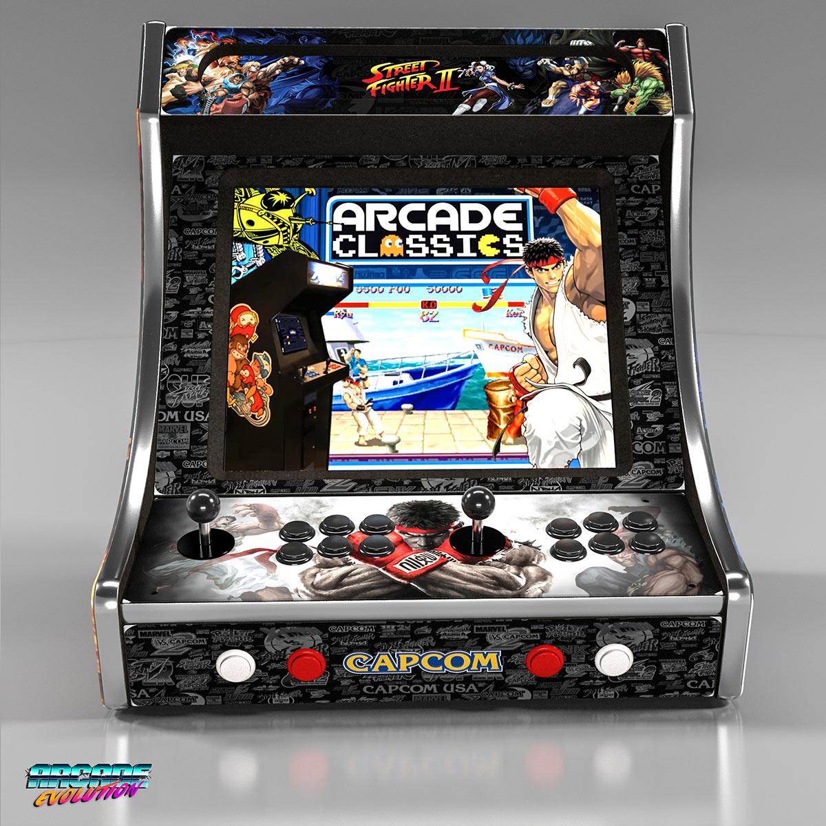 Ae19b Street Fighter Arcade Machine Arcade Evolution